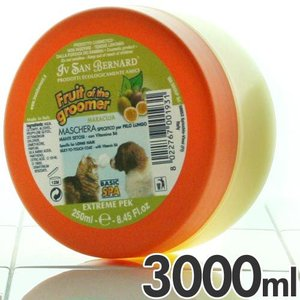 イブサンベルナルド 犬猫用コンディショナー フルーツオブザグルーマー マラクジャコンディショナー 長毛種用 3000ml 1993 |a-pet