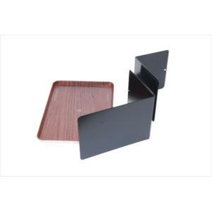 ベッドサイドテーブル「りもて」(スマホ、リモコン、文庫本用)濃い木目(小サイズ)ベッドと同じに、高さ合わせ調節可能。暗やみOK、こぼれ止め付きベッド棚。|a-pi|05