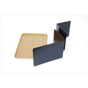 ベッドサイドテーブル「りもて」(スマホ、リモコン、文庫本用)うすい木目(小サイズ)ベッドと同じに、高さ合わせ調節可能。暗やみOK、こぼれ止め付きベッド棚。|a-pi|08