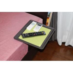 「リモて」グレーの木目(大サイズ)【ティッシュBOX付き】(ベッド用サイドテーブル)|a-pi|04