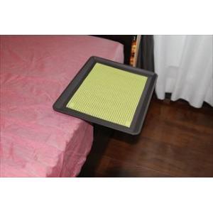 「リモて」グレーの木目(大サイズ)【ティッシュBOX付き】(ベッド用サイドテーブル)|a-pi|06
