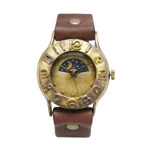 手作り時計 渡辺工房 64B-S&M クオーツ腕時計|a-spiral