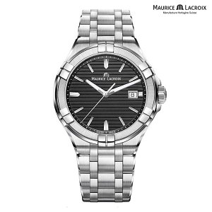 モーリスラクロア アイコン MAURICE LACROIX AIKON AI1008-SS002-331-1 正規品 メンズ クオーツ腕時計|a-spiral
