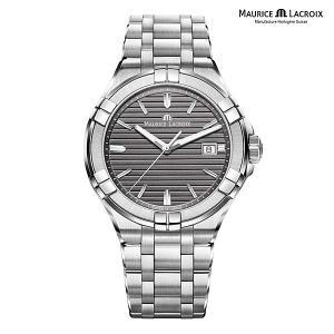 モーリスラクロア アイコン MAURICE LACROIX AIKON AI1008-SS002-332-1 正規品 メンズ クオーツ腕時計|a-spiral