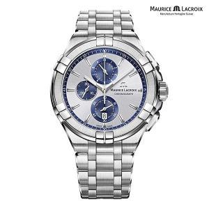 モーリスラクロア アイコン MAURICE LACROIX AIKON AI1018-SS002-131-1 正規品 メンズ クオーツ腕時計|a-spiral