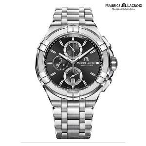 モーリスラクロア アイコン MAURICE LACROIX AIKON AI1018-SS002-330-1 正規品 メンズ クオーツ腕時計|a-spiral