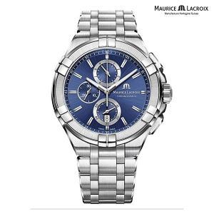 モーリスラクロア アイコン MAURICE LACROIX AIKON AI1018-SS002-430-1 正規品 メンズ クオーツ腕時計|a-spiral