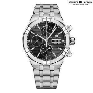 モーリスラクロア アイコン オートマチック クロノグラフ MAURICE LACROIX AIKON Automatic Chronograph AI6038-SS002-330-1 正規品 メンズ 自動巻き腕時計|a-spiral