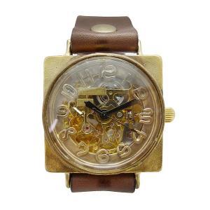 手作り時計 渡辺工房 BAM027 機械式(自動巻き)腕時計|a-spiral