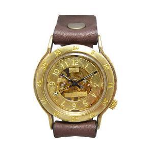 手作り時計 渡辺工房 BHW042 機械式(手巻き)腕時計|a-spiral
