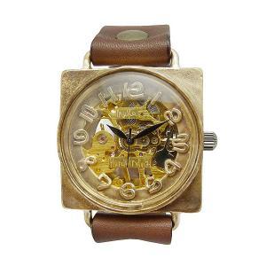 手作り時計 渡辺工房 BHW085 機械式(手巻き)腕時計|a-spiral