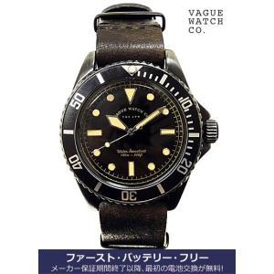 ヴァーグ・ウォッチ・コー 時計 BLK SUB  BS-L-N001 クオーツ腕時計 a-spiral