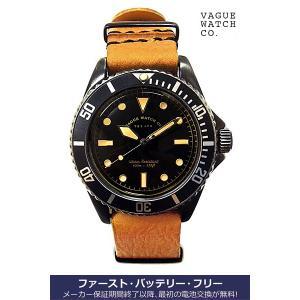 ヴァーグ・ウォッチ・コー 時計 BLK SUB  BS-L-N002 クオーツ腕時計 a-spiral