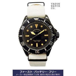 ヴァーグ・ウォッチ・コー 時計 BLK SUB  BS-L-N003 クオーツ腕時計 a-spiral