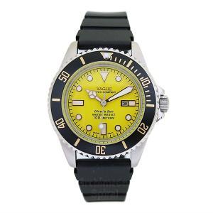 ヴァーグ・ウォッチ・コー DIVER'S SON ダイバーズ・サン DS-L-002 正規品 クオーツ腕時計 a-spiral