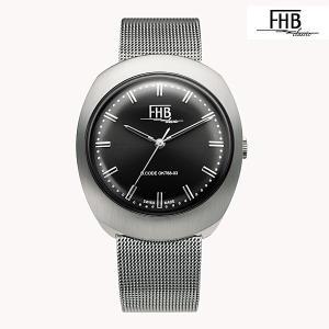 エフエッチビー FHB 時計 F930BK-MT クオーツ腕時計|a-spiral