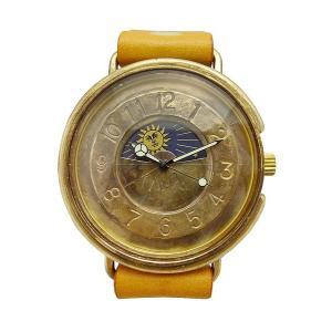 手作り時計 渡辺工房 JUM129-S&M クオーツ腕時計|a-spiral