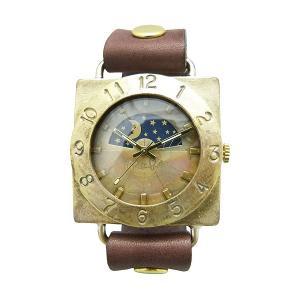 手作り時計 渡辺工房 JUM140-S&M クオーツ腕時計|a-spiral