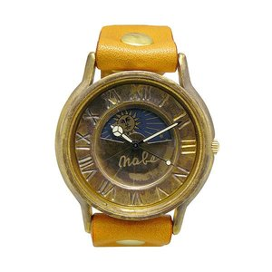 手作り時計 渡辺工房 JUM31-S&M-OR クオーツ腕時計|a-spiral