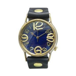 手作り時計 渡辺工房 JUM38-BK クオーツ腕時計|a-spiral