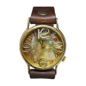 手作り時計 渡辺工房 JUM38-GD クオーツ腕時計|a-spiral