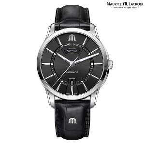 モーリスラクロア ポントス デイデイト MAURICE LACROIX PONTOS Day Date PT6358-SS001-330-1 正規品 メンズ 自動巻き腕時計|a-spiral