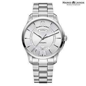 モーリスラクロア ポントス デイデイト MAURICE LACROIX PONTOS Day Date PT6358-SS002-130-1 正規品 メンズ 自動巻き腕時計|a-spiral