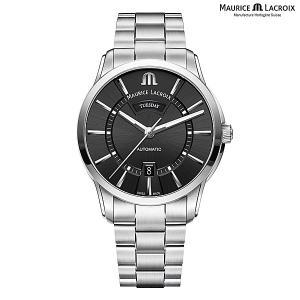 モーリスラクロア ポントス デイデイト MAURICE LACROIX PONTOS Day Date PT6358-SS002-330-1 正規品 メンズ 自動巻き腕時計|a-spiral