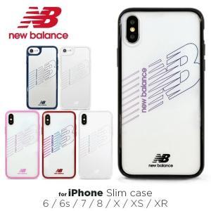 14b2c7900a New Balance 「ハイブリッドクリアケース」 ニューバランス iPhoneXS iPhoneX iPhoneXR iPhone8  iPhone7 iPhone6s iPhone6 スマホケース