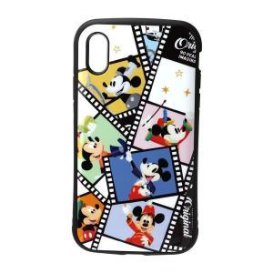 【商品説明】 ミッキーマウスの90周年を記念して作られた特別なデザインのiPhoneXR用フリップカ...