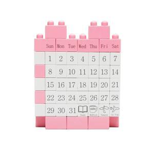 エーワークスオリジナル ブロックカレンダーミニ ピンク a-works-shop