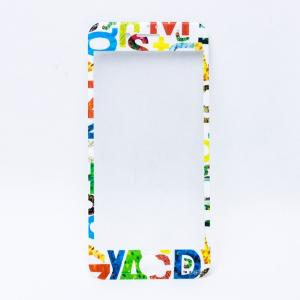 エリック・カール はらぺこあおむし 強化ガラスフィルム アルファベット|a-works-shop