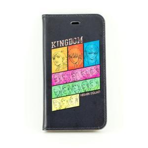 キングダム 手帳型iPhone6/6sカバー 飛信隊(ブラック)|a-works-shop