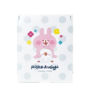 カナヘイの小動物 コンパクトミラー ピスケ&うさぎ a-works-shop