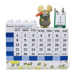レオ・レオニ&フレンズ ブロックカレンダー フレデリック a-works-shop