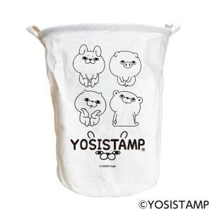 ヨッシースタンプ ランドリーバッグ おすわり|a-works-shop