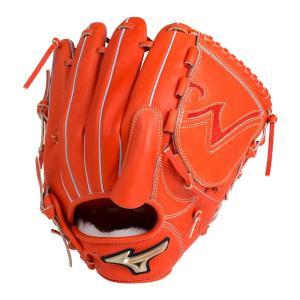 野球 硬式グラブ ミズノ mizuno グローバルエリート 投手用 1AJGH18201 レッドオレンジ 右投用 サイズ11 a27baseball