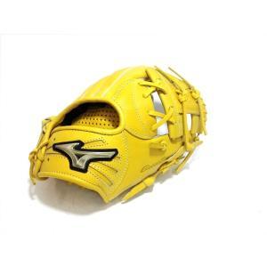 野球 ミズノ MIZUNO グローバルエリート 少年軟式用グラブ Hselection02 オールラウンド用 Mサイズ 1AJGY18320|a27baseball