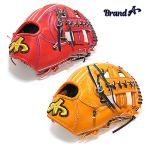 野球 BrandA ブランドA 硬式グラブ 内野手用 907AJ005 ジュテルレザー 日本製 型付け無料 サイズ約28.3cm a27baseball