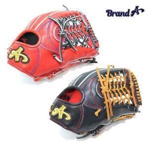 野球 BrandA ブランドA 硬式グラブ 外野手用 907AJ027 ジュテルレザー 日本製 型付け無料 サイズ約31.5cm a27baseball