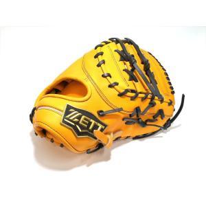 野球 ゼット ZETT 少年軟式用 ファーストミット BFJB70913 右投用 オレンジ|a27baseball