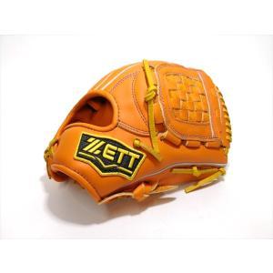 野球 少年軟式グラブ ゼット ZETT 源田モデル BJGB70816 オレンジ Mサイズ 限定品|a27baseball