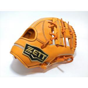野球 ゼット ZETT ネオステイタス 少年軟式用グラブ 日本製レザー使用 オレンジ Mサイズ BJGB70910 【型付け無料】|a27baseball