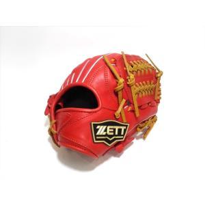 野球 ゼット ZETT 少年軟式用 グラブ BJGB71920 右投用 Dオレンジ×オーク Mサイズ|a27baseball