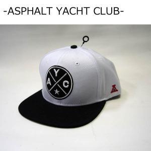 ASPHALT YACHT CLUB キャップ アスファルトヨットクラブ CROSSROADS SNAPBACK CAP スナップバックキャップ|a2b-web