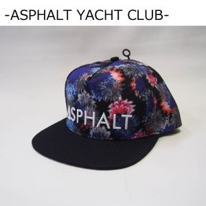 ASPHALT YACHT CLUB キャップ アスファルトヨットクラブ FAB FLORAL SNAPBACK CAP スナップバックキャップ|a2b-web