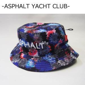 ASPHALT YACHT CLUB バケットハット アスファルトヨットクラブ FAB FLORAL REVERSIBLE HAT リバーシブルハット|a2b-web