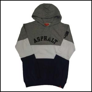 ASPHALT YACHT CLUB アスファルトヨットクラブ パーカー フード TRIBLOCK HOODIE|a2b-web