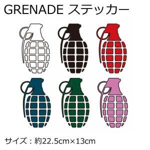 GRENADE ステッカー グレネード スノーボード STI...