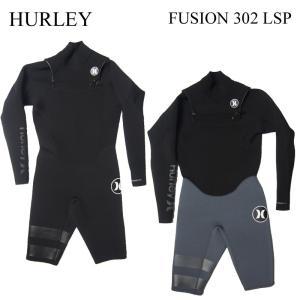HURLEY ハーレー  ウェットスーツ FUSION C-ZIP 302 LONG SPRING フュージョン ロンスプ ロングスプリング WETSUITS 国内正規品 2017年モデル サーフ サーフィン|a2b-web
